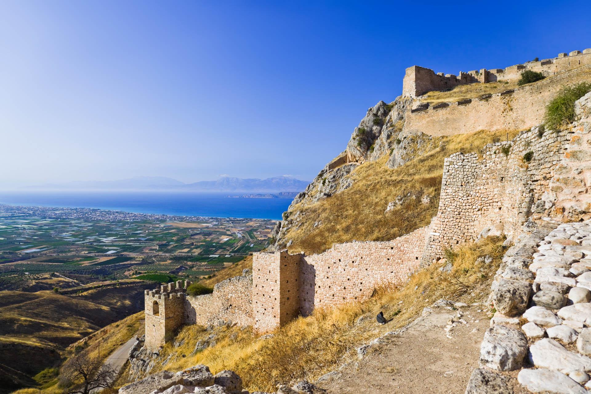 Castle Of Acrocorinth Gtp